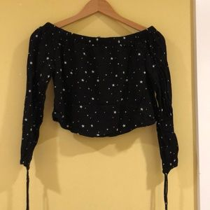 Kendall and Kylie Star crop top